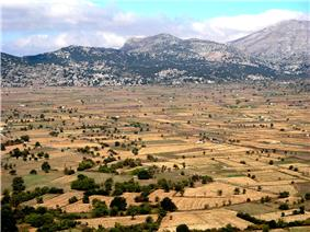 Panorama of the Lasithi Plateau