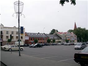 Kretinga city square