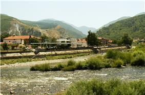 The Vacha River passing through Krichim