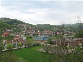 Panoramic view on Krupanj