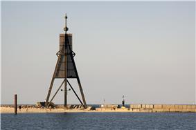 Kugelbake, symbol of Cuxhaven