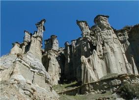 Yanıkyöre rock formations near Kula