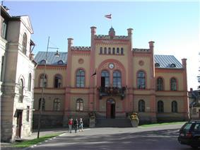 Town hall of Kuldīga