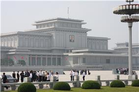 Kumsusan Memorial Palace.