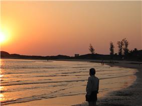 Kumta Sunset at Beach