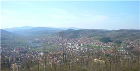 Panoramic view on Kuršumlija