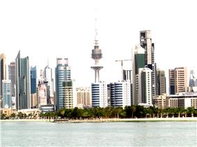 Skyline of Kuwait City