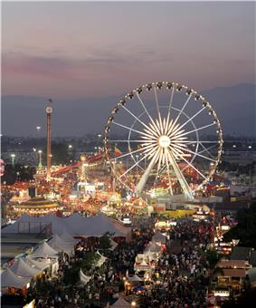 The Los Angeles County Fair at Pomona in September 2008.