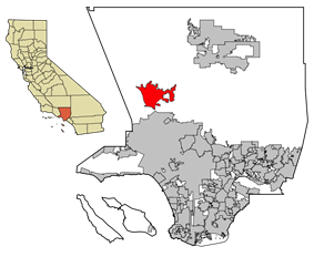 Santa Clarita in Los Angeles County
