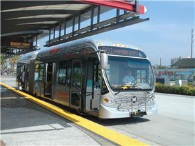 Image of Orange Line bus