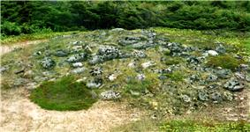 Burial mound of the Maritime Archaic Tradition