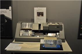 IBM 029 card punch