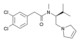 Chemical structure of LPK-26.