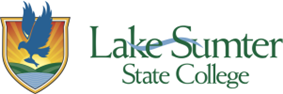 Lake–Sumter State College's logo.