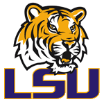 LSU Tigers athletic logo