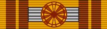 Commander's Cross ribbon bar