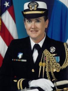 LT Patricia C. Hasen NC USN is the first First Navy Nurse Corps Officer to be formally appointed as an executive assistant to a flag rank unrestricted line officer.