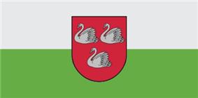 Flag of Gulbene Municipality