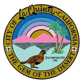 Official seal of City of La Quinta