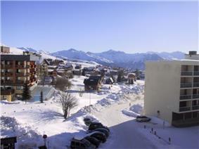 The ski station of La Toussuire
