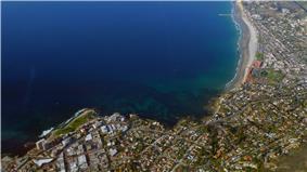 Aerial photo of La Jolla