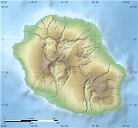 Piton  la Fournaise is located in Réunion