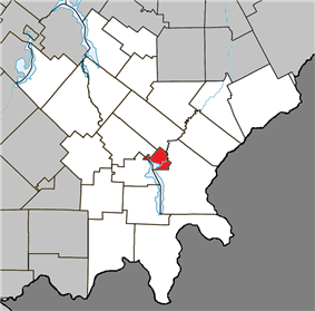 Location within Le Granit RCM.