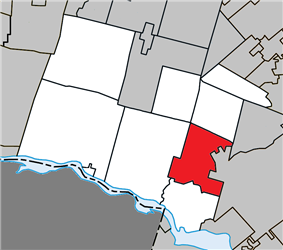 Location within Argenteuil RCM