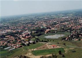 Aerialphotography of Lajosmizse