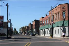 Downtown listed as the Lake Linden Historic District