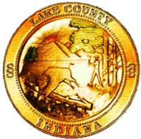 Official seal of Lake County, Indiana
