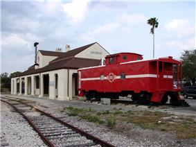 Old Lake Placid Atlantic Coast Line Railroad Depot