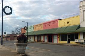 Lake Village Commercial Historic District