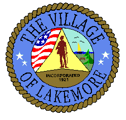 Official seal of Lakemore, Ohio