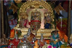 Lakshmi Hayagreeva Vigraha at Parakala Mutt