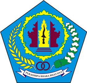 Official seal of Denpasar