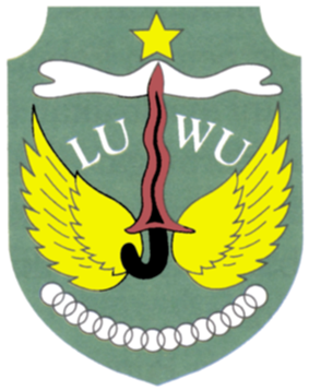 Official seal of Kabupaten Luwu