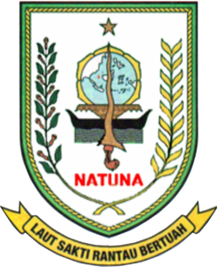Official seal of Natuna Islands