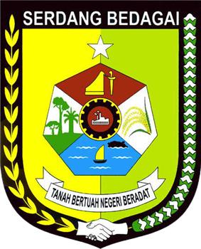 Seal, or Lambang, of Serdang Bedagai Regency