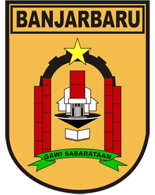Official seal of Kota Banjarbaru