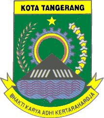 Official seal of Kota Tangerang