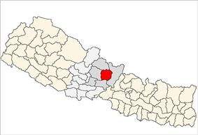 Location of Lamjung