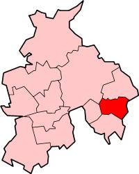 Shown within non-metropolitan Lancashire