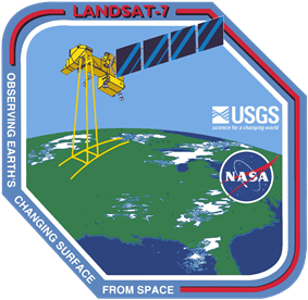 Landsat 7 mission patch