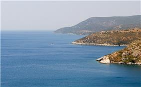 The Aegean Sea from Menderes district