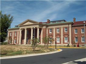 The Langley Park Mansion in September 2010