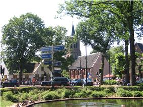 Laren town centre