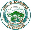 Official seal of City of Larkspur