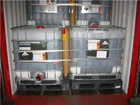 Polyester Strapping and Dunnage Bag application