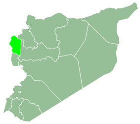 Latakia Governorate within Syria